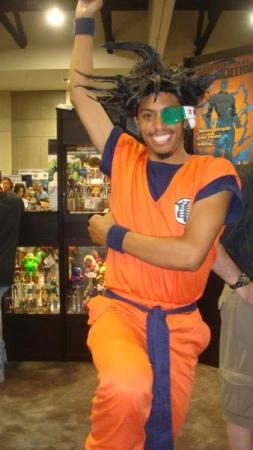 Captain Ginyu from Dragonball Z worn by Black Gokou