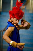 Akuma from Street Fighter IV worn by Black Gokou