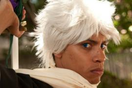 Toushiro Hitsugaya from Bleach worn by Black Gokou