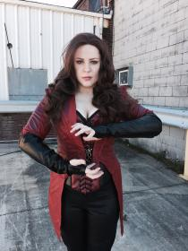 Scarlet Witch from Avengers, The by Helena Invictus