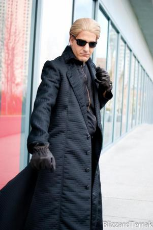 Albert Wesker from Marvel vs Capcom 3