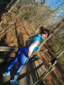 Chun Li from Street Fighter Alpha worn by Ashbrie