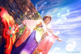 Yuna from Final Fantasy X worn by Rydia