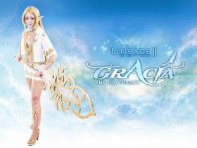 Female Elf from Lineage II