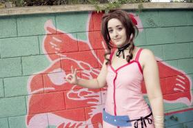 Aerith Gainsborough from Kingdom Hearts worn by Rydia