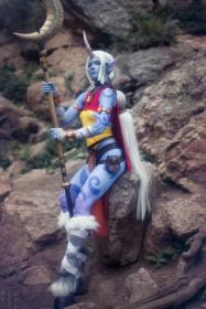 Soraka from League of Legends by jinglebooboo