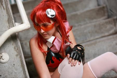 Yoko Littner from Tengen Toppa Gurren-Lagann worn by Miss Nintendo