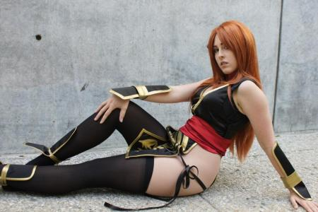Kasumi from Dead or Alive 4 worn by Miss Nintendo