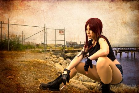 Revy from Black Lagoon worn by Miss Nintendo
