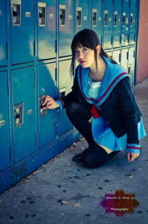 Kyonko from Melancholy of Haruhi Suzumiya worn by Priscilla