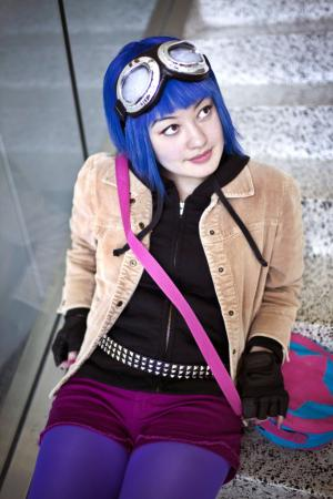 Ramona Flowers from Scott Pilgrim worn by Priscilla