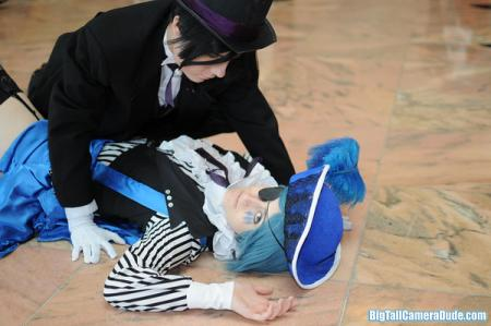 Ciel Phantomhive from Black Butler worn by TrannyMess