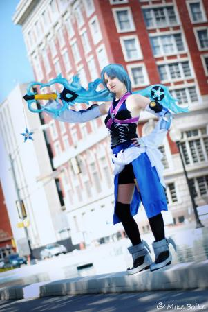 Aqua from Kingdom Hearts Birth by Sleep worn by PockyPants