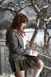 Ryouko Otonashi from Dangan Ronpa worn by turtleen
