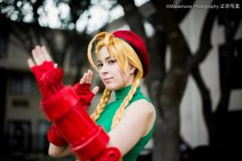 Cammy from Street Fighter IV worn by MissMarquin