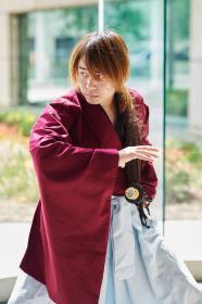 Kenshin Himura from Rurouni Kenshin by IzunaDrop247