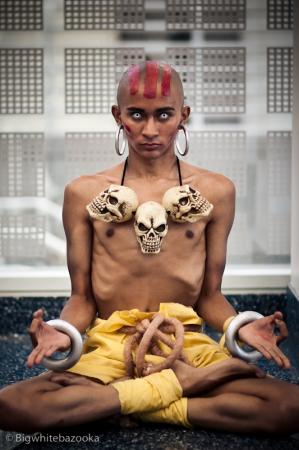 Dhalsim from Street Fighter II worn by EDG