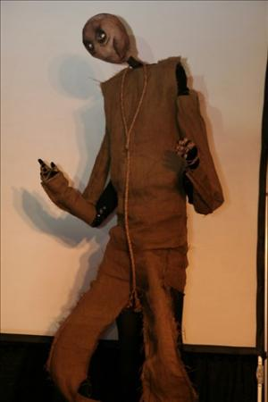 Scarecrow from Dorothy of Oz worn by Darieum