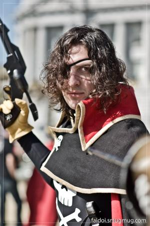 Captain Harlock from Captain Harlock