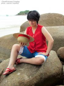 Monkey D. Luffy from One Piece  by ClowPrincess