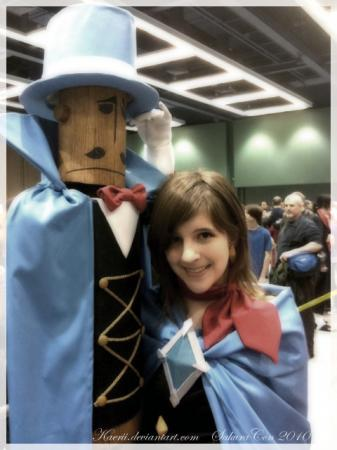 Trucy Wright from Apollo Justice: Ace Attorney worn by Slaahv