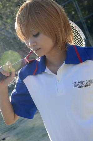 Fuji Shusuke from Prince of Tennis worn by Harmony