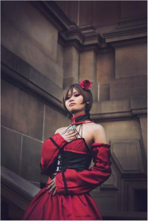 Meiko from Vocaloid worn by Harmony
