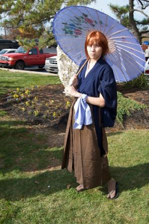 Kenshin Himura from Rurouni Kenshin worn by Elderberry