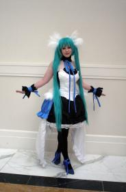 Hatsune Miku from 7th Dragon  by Voxane