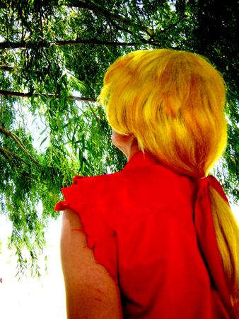 Ken Masters from Street Fighter Alpha worn by Ritzy-kun