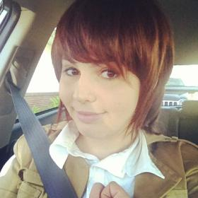 Sasha Braus from Attack on Titan worn by Jazqui