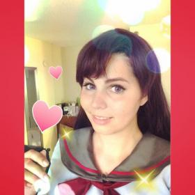 Rei Hino from Sailor Moon worn by Jazqui
