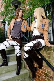 Historia Reiss / Christa Renz from Attack on Titan worn by Kitsune Dolly