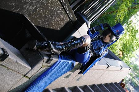 Ciel Phantomhive from Black Butler worn by Kitsune Dolly