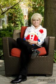 Teddie from Persona 4 worn by Kitsune Dolly