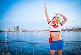 Supergirl from Superman worn by Kitsune Dolly