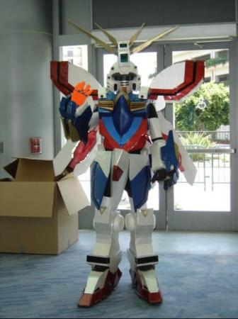 God Gundam from Mobile Fighter G Gundam