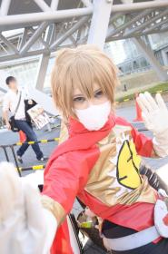 Masayoshi Hazama from Samurai Flamenco worn by ニャンコメシュ