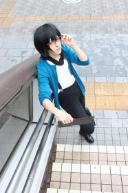 Rui Ninomiya from Gatchaman Crowds worn by ニャンコメシュ