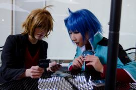Toshiki Kai from Cardfight!! Vanguard worn by ニャンコメシュ