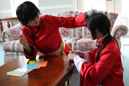 China / Wang Yao from Axis Powers Hetalia worn by ニャンコメシュ