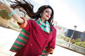 Lisa Lisa from Jojo's Bizarre Adventure worn by Neoqueenhoneybee