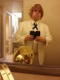 Byakuya Togami from Dangan Ronpa worn by Bearpigman