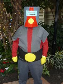 Moltar from Space Ghost worn by Bearpigman