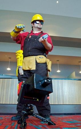 Engineer from Team Fortress 2 worn by Bearpigman