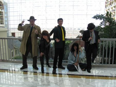 Jigen from Lupin III worn by Bearpigman