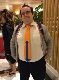 Hifumi Yamada from Dangan Ronpa worn by Bearpigman