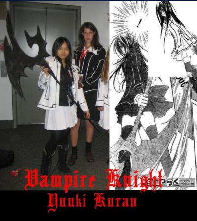 Yuuki Kuran from Vampire Knight