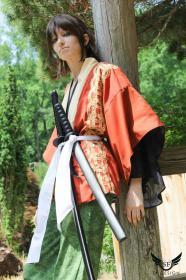 Okita Souji from Hakuouki Shinsengumi Kitan