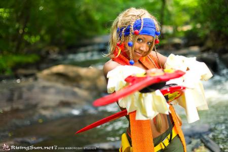 Rikku from Final Fantasy X-2 worn by Blikku